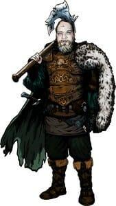 Joshua Gullion the Warrior