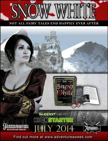 Snow White web ad
