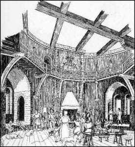 Mosshammer Castle - Great Hall