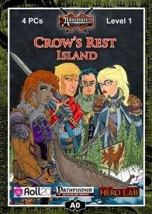 A0 Crow's Rest Island