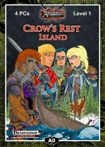 DOWNLOAD A FREE ADVENTURE!  Crow's Rest Island