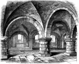 Morsain Castle interior