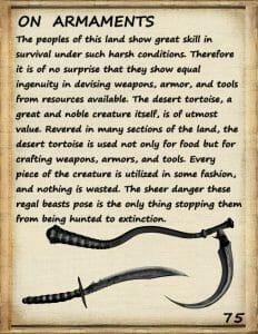 journeyman guide armaments