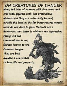 journeyman guide dangerous creatures