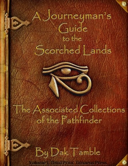 journeyman guide to the scorched lands cover