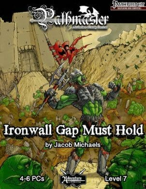Ironwall Gap Must Hold cover