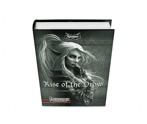Rise of the Drow hardback