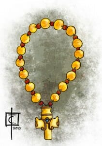 Celurian-Prayer Bead of Saint