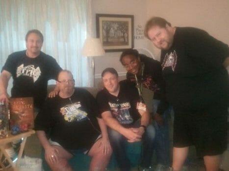 Joshua and TPK crew