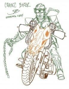 chainz biker orc - JB
