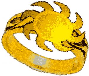 sunbeam arrow ring