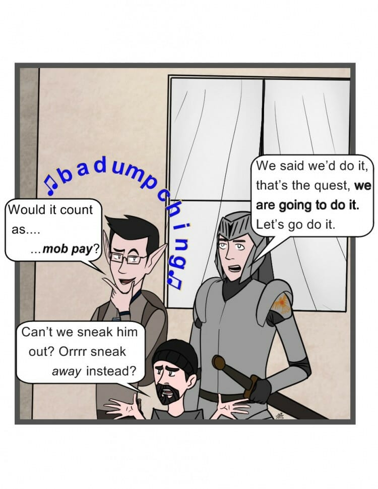 Adventurer's Weekly #5 - Panel 2