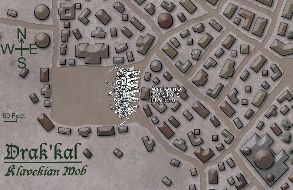 Klavekian Mob map
