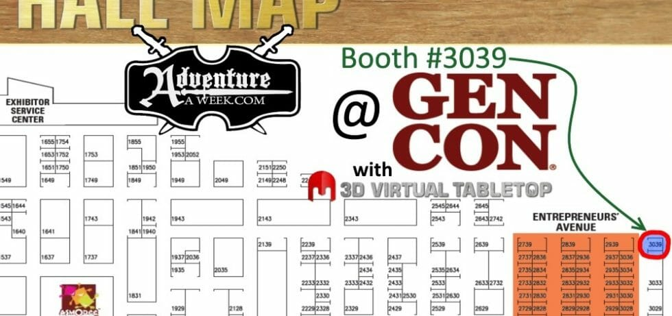 adventureaweek at gencon 2015