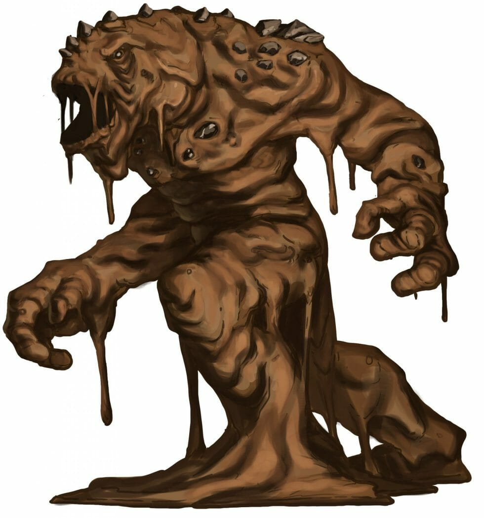 mud monster - elemental_mud__eric_quigley