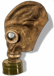 mask of gaseous reprieve
