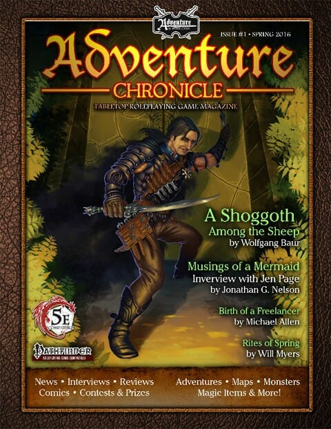 Adventure Chronicle Magazine